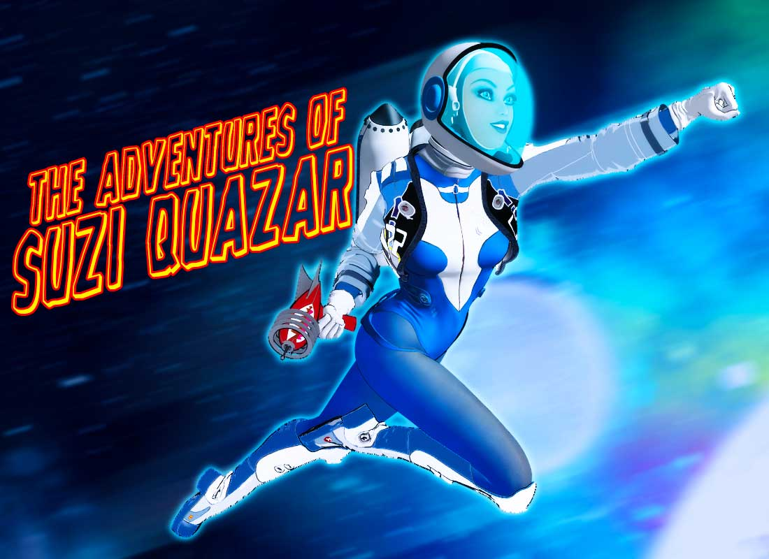 Suzi Quazar title card