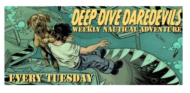 Comics! Deep Dive Daredevils