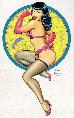 Inspirations: Bettie Page